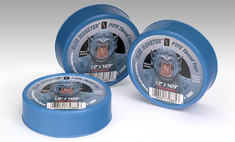 Blue Monster Tape Rolls