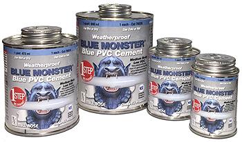 bm blue pvc cement